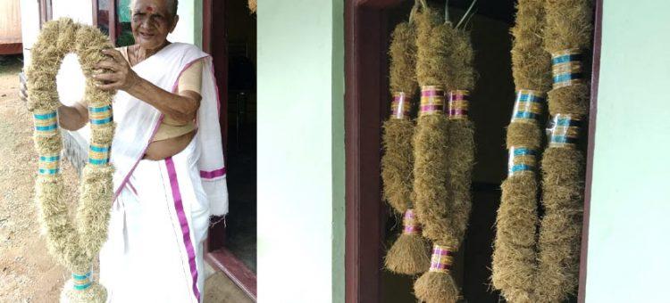 ഇന്ദിരാമ്മയുടെ രാമച്ചമാല ഹിറ്റ്; കാലങ്ങളോളം സൂക്ഷിക്കാം ഈ വിവാഹമാല