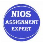 Nios Assignment solution for 10th & 12th All subject Medium – Hindi & English